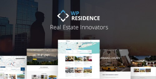 Download Nulled WP Residence v1.17 - Real Estate WordPress Theme