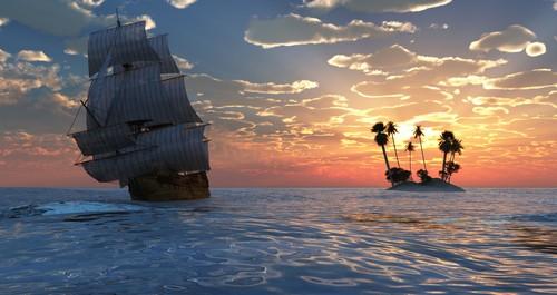 Растровый клипарт - Яхты 3