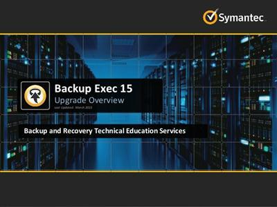 Symantec Backup Exec 15 v14.2 FP5 Multilingual (Win Mac Lnx)