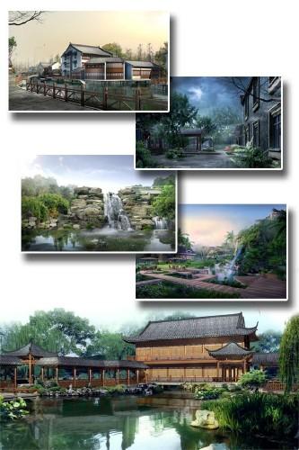 Китайские архитектурные концепты (подборка изображений)