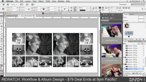 Create a Photo Album: Workflow and Design