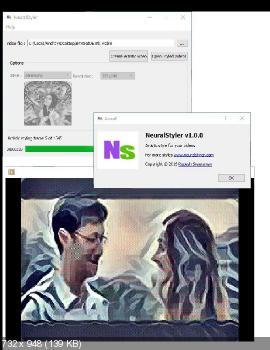 Neuralstyler x64 1.0.0. Скриншот №1