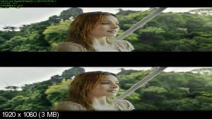 Тарзан. Легенда 3D / The Legend of Tarzan 3D ( Лицензия by Ash61) Вертикальная анаморфная стереопара
