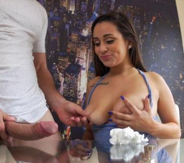 Evie Olson - Cleans the kitchen and Jmacs cock (2016) FullHD 1080p