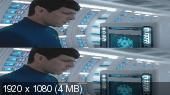 Без черных полос (На весь экран)  Стартрек: Бесконечность 3D / Star Trek Beyond 3D Вертикальная анаморфная стереопара