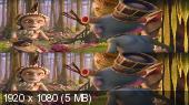 Без черных полос (На весь экран)  Савва. Сердце воина 3D Вертикальная анаморфная стереопара