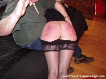 Outdoor cruel spank fantasy