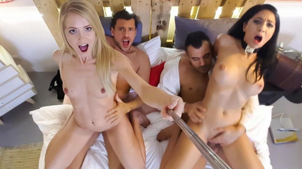 [LosConsoladores.com / PornDoePremium.com] Julia De Lucia, Sicilia — Naughty group sex action with horny Spanish swingers and Julia De Lucia (2016-12-08) [All sex, Blowjob, 4some, 1080p] online