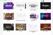 Шрифты - Full Site Rip - 1300 Premium Font