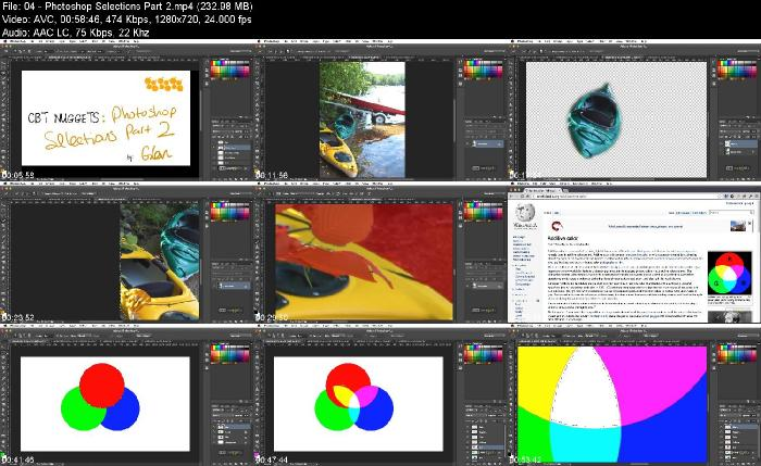 CBT Nuggets Photoshop for Developers